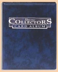4-Pocket Portfolio Collectors Blue
