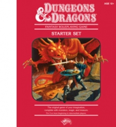 D&D Fantasy Roleplaying Game Starter Red Box RPG