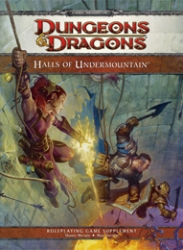 D&D Halls of Undermountain 4.0 RPG