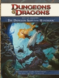 D&D Into the Unknown Survival Handbook RPG