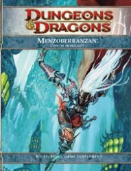 D&D Menzoberranzan City of Intrigue RPG