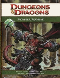 D&D Monster Manual 4.0 RPG