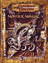 D&D Monster Manual 5 RPG