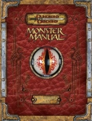 D&D Monster Manual 3.5 ed. RPG