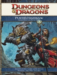D&D Players Handbook 4.0 RPG