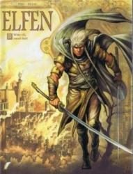 Elfen # SC03 Witte elf, zwart hart