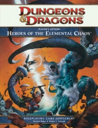 Heroes o/t Elemental Chaos Player's Option D&D Game Supplement