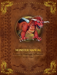 Monster Manual 1st Edition Premium Reprint