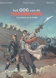 Oog van de Dobermanns. het # SC02 De schaduw van de honden 2/3