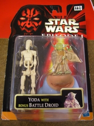 Yoda with bonus Battle Droid